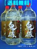 【送料無料】 本格芋焼酎 鬼嫁(おによめ) 25度 4000mlペットボトル 1ケース(4本) 鹿児島県曽於市 岩川醸造
